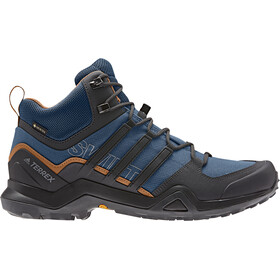 adidas TERREX Swift R2 Mid Gore-Tex Zapatillas Senderismo Hombre, legend marine/core black/tech copper